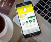 Snapchat auf Handy