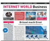 Cover der Ausgabe 14-2017 von INTERNET WORLD Busines