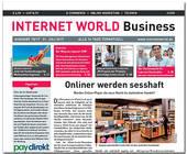 Cover der Ausgabe 15-2017 von INTERNET WORLD Business