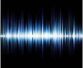 Visualisierte Soundwave