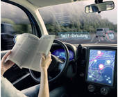Auto autonomes Fahren Leser Steuer