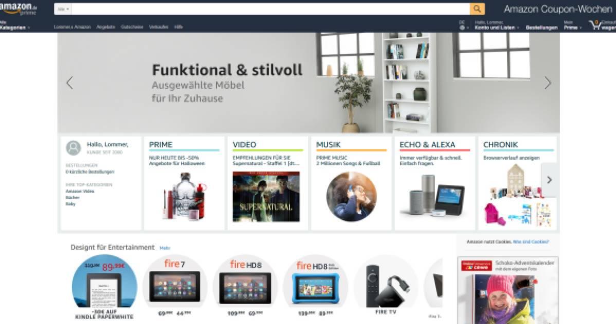 Amazon schraubt an Filtern und Design - internetworld.de