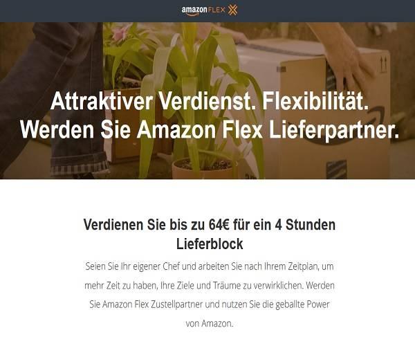 Amazon wirbt Privatleute als Paketboten