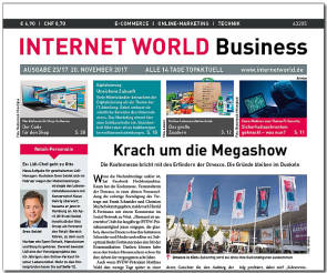 INTERNET WORLD Business Ausgabe 23-2012