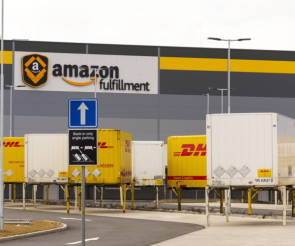 Logistikzentrum von Amazon