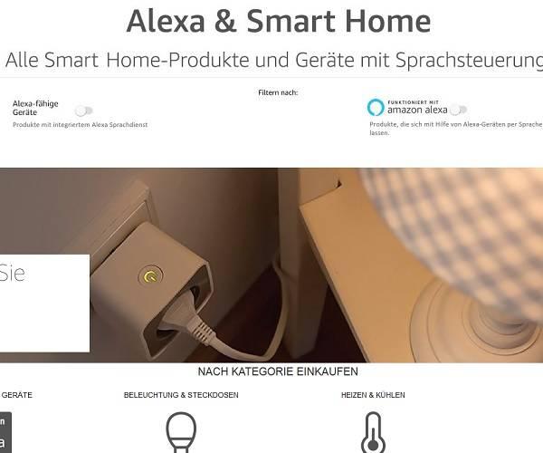 amazon launcht smart home shop in deutschland. Black Bedroom Furniture Sets. Home Design Ideas