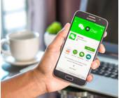 WeChat-App-Smartphone-Nutzer-Hand