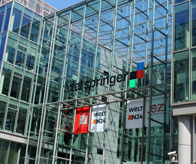 Axel Springer steigert Umsatz und Gewinn