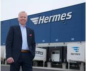 Dirk Rahn-Geschäftsführer Operations Hermes Germany Eröffnung Graben