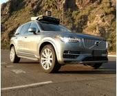 Autonomes Auto von Uber