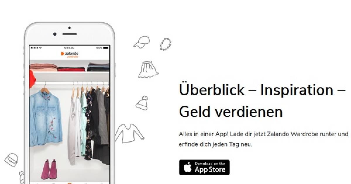 zalando launcht wardrobe app und geht mit beauty sortiment. Black Bedroom Furniture Sets. Home Design Ideas