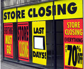 Closing, Out of Business