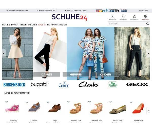 best service e223e 0936d Schuhe24 weitet Geschäftskonzept auf Sport und Mode aus ...