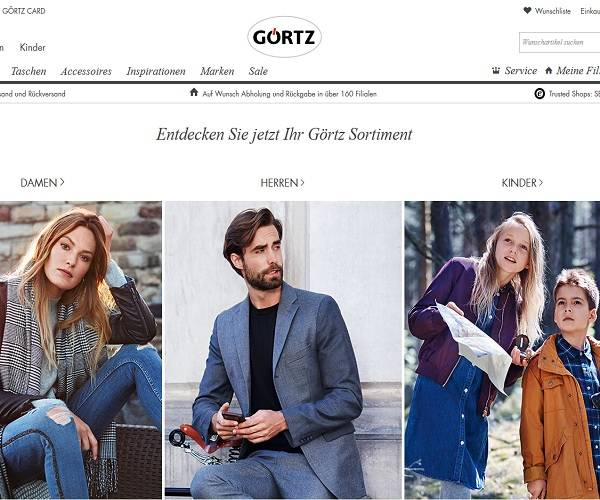 Görtz startet Ship from Store Service