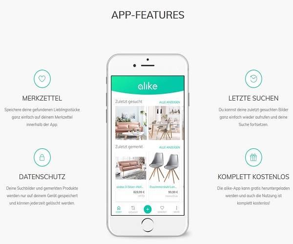 Alike Otto Integriert App Für Foto Suche Internetworldde