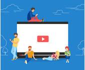 Leute schauen Videos