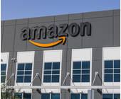 Amazon Logo auf einem Gebäude