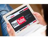 YouTube auf dem Tablet